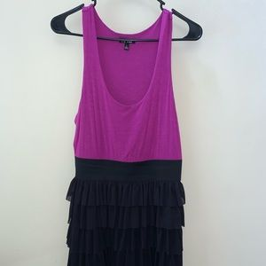 Apt. 9 purple & black size small dress. GUC